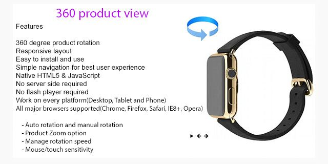 360 Product View Plugin jQuery