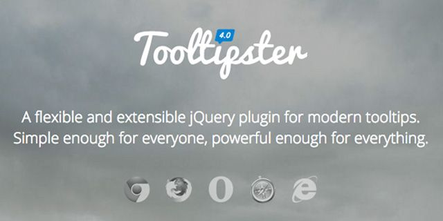 Tooltipster jQuery Plugin