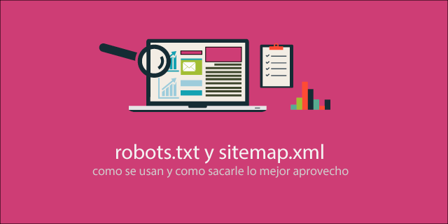robots.txt y sitemap.xml